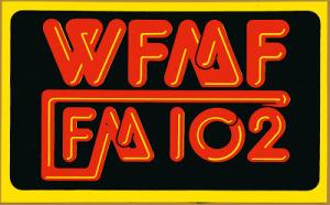 WFMF bumper sticker 1970s